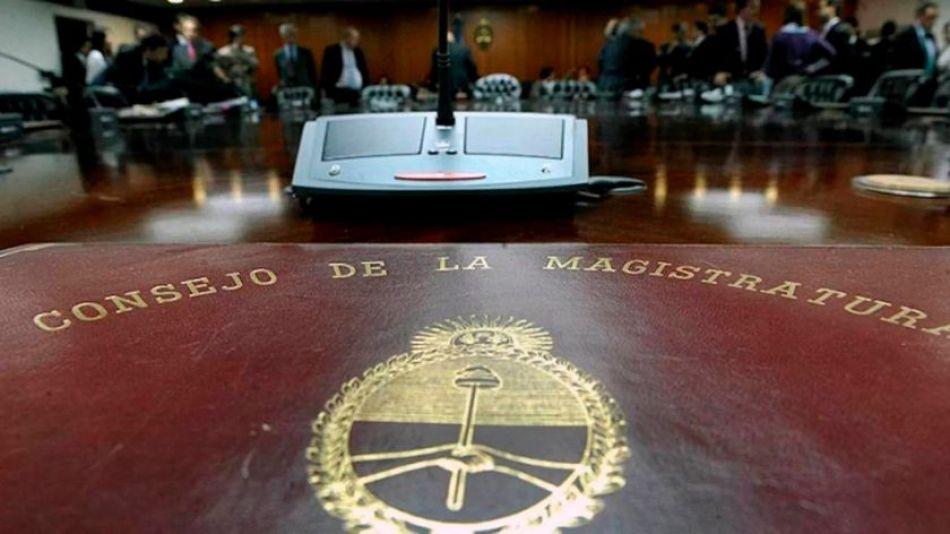 Consejo de la Magistratura.