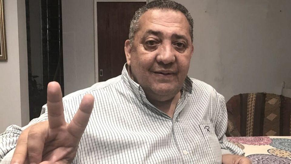 El dirigente piqueteroLuis D'Elía.