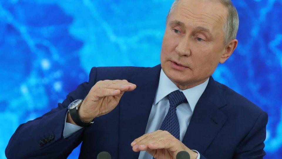 Putin en conferencia