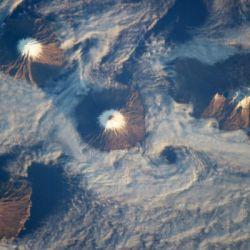 El hasta ahora desconocido cráter se encontraría bajo la superficie de un archipiélago de seis islas.
