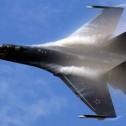 El Su-35 entró en servicio en Rusia en 2014 y desde entonces son varios los países que han mostrado interés en adquirirlo.
