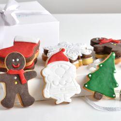 Recetas de cookies navideñas.