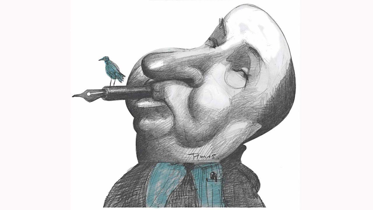 Alfred Hitchcock por Pablo Temes | Foto:Pablo Temes