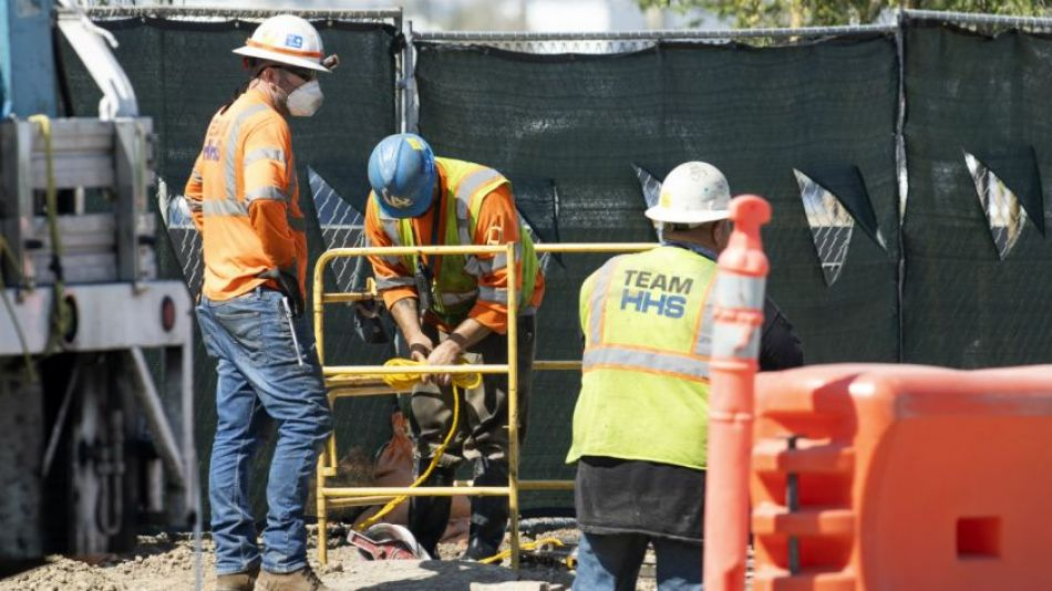 Empleo en la construcción.