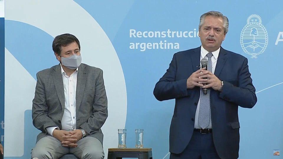 Anuncios del presidente Fernández