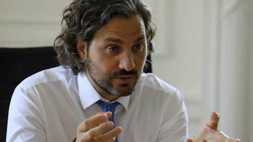 Santiago Cafiero. Jefe de Gabinete.