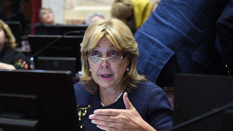 La senadora Norma Durango es presidenta de la Comisión de la Banca de la Mujer.