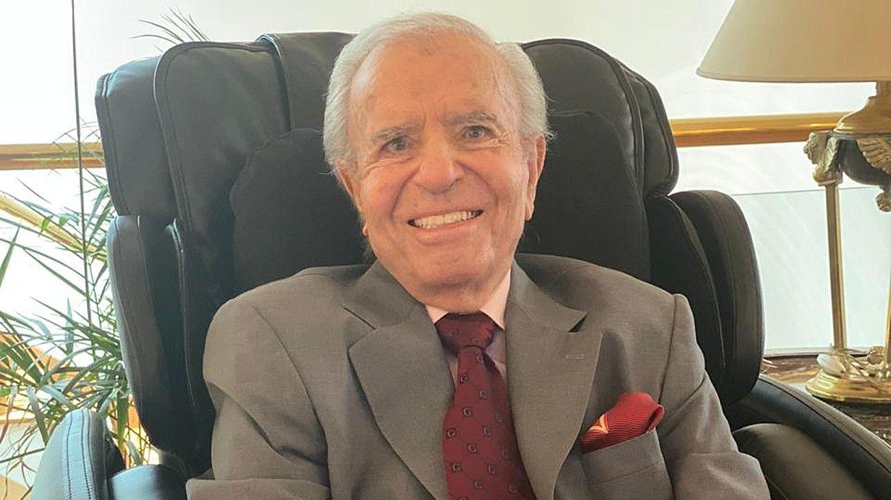 El senador Carlos Saúl Menem.