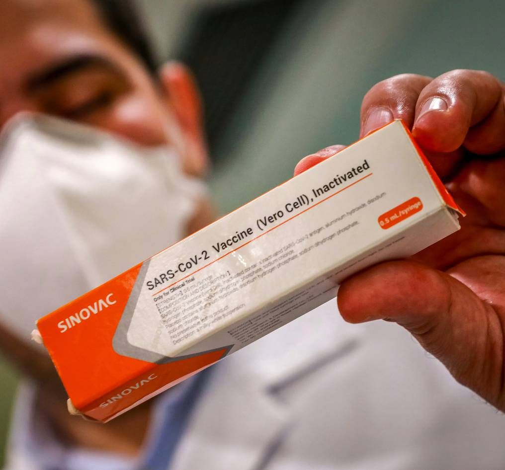 CORONAVAC. La vacuna producida por el laboratorio Sinovac Biotech, una de las apuntadas.