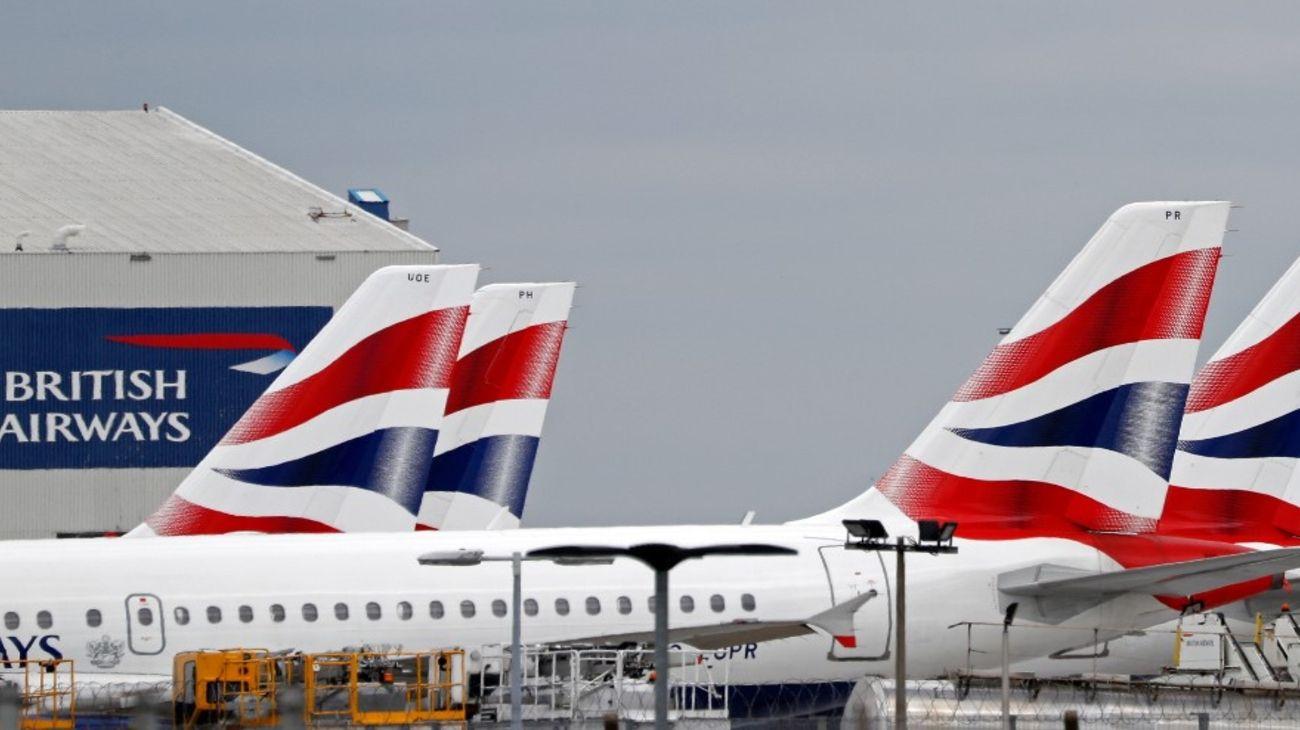 Vuelos de la línea British Airways en el Aeropuerto Internacional Londres-Heathrow