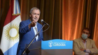 CORDOBESISMO DE BANDERA. Schiaretti apuesta a 'Gestión Córdoba' como sello de calidad y certificación de gestión para el 2021.