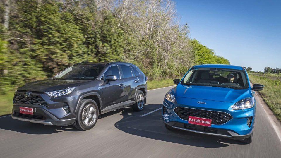 Ford Kuga Hybrid SE vs Toyota Rav4 HV XLE (Fotos: Alejandro Cortina Ricci)