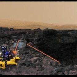 La idea es utilizar un grupo de estos perros-robot para explorar Marte.