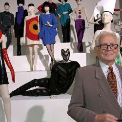 Una de sus últimas apariciones públicas, en 2005, en una retrospectiva de su obra en Viena.