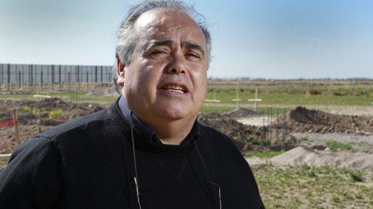 """Jorge Castillo, """"el Rey de La Salada"""" (Archivo NA)"""