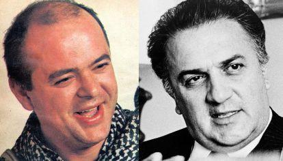 Luca Prodan y Federico Fellini