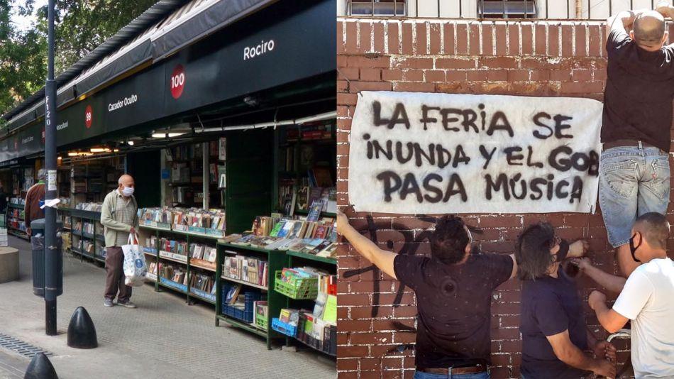 Puestos de libros Pque Rivadavia 20201221