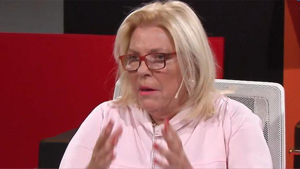 Elisa Carrió en tn