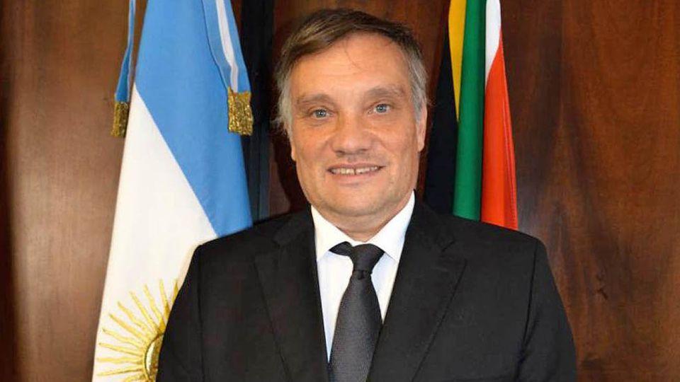 Javier Figueroa embajador argentino en Reino Unido
