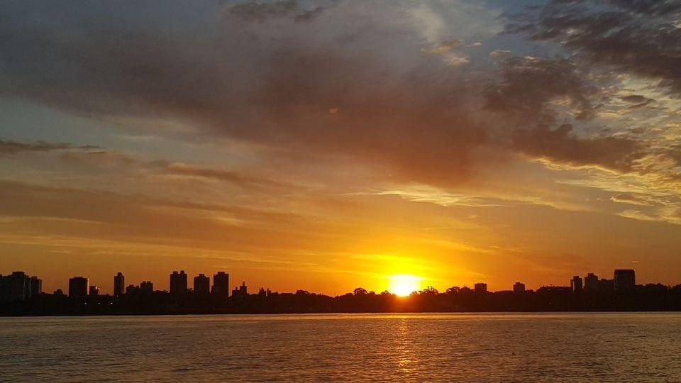 Puesta de Sol en Buenos Aires.