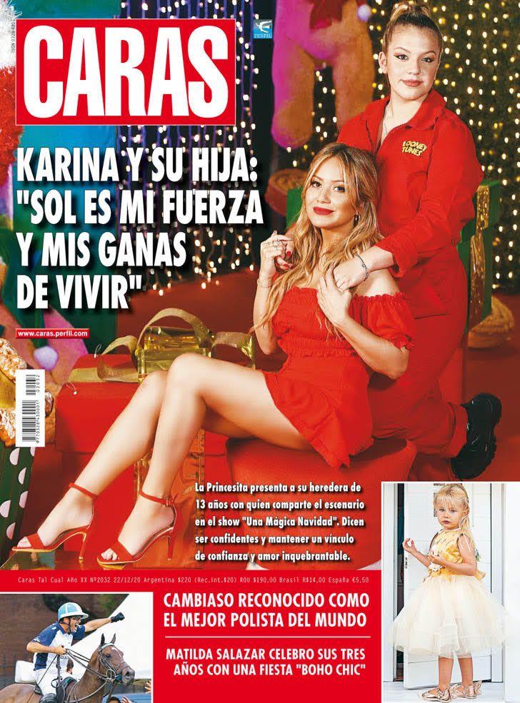 """Karina y su hija: """"Sol es mi fuerza y mis ganas de vivir"""""""