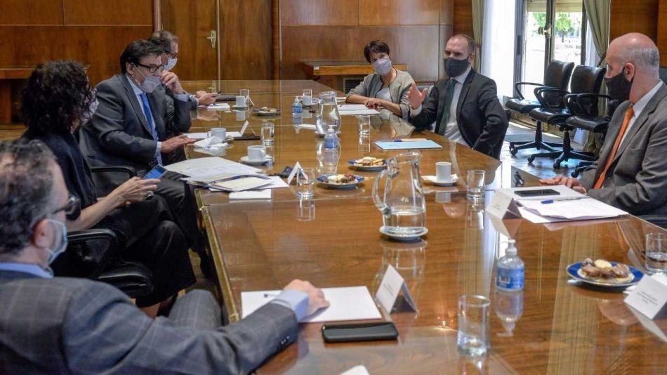 Reunión del Gabinete Económico-20201222