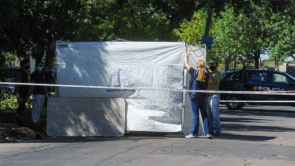 Las cabezas fueron halladas en un contenedor de la calle Lituania al 5600.
