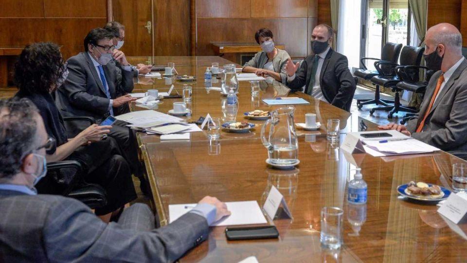 Reunión del Gabinete Económico en el Palacio de Hacienda