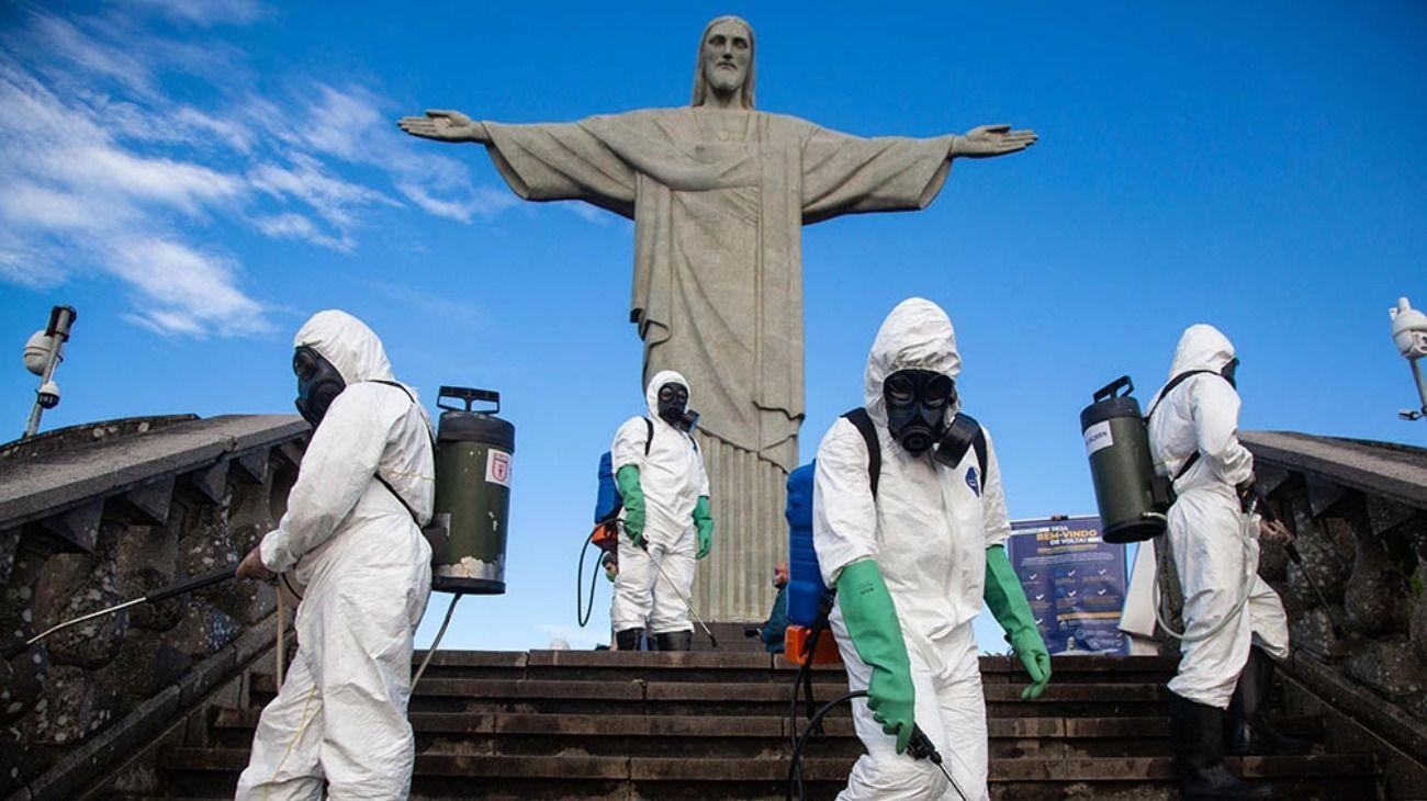 Identificaron una nueva cepa de coronavirus en el estado de Río de Janeiro.
