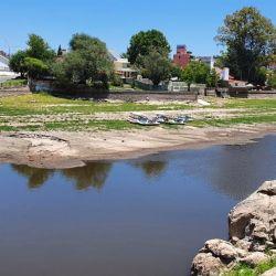 Según las autoridades, el caudal del lago se reduce unos 4,5 centímetrospor día.