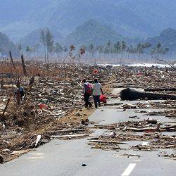 La velocidad del tsunami superó los 600 kilómetros por hora.