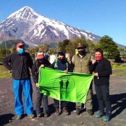 Este grupo de aventureros forma parte de la ONG Guías a la Par, de la ciudad de Mar del Plata.