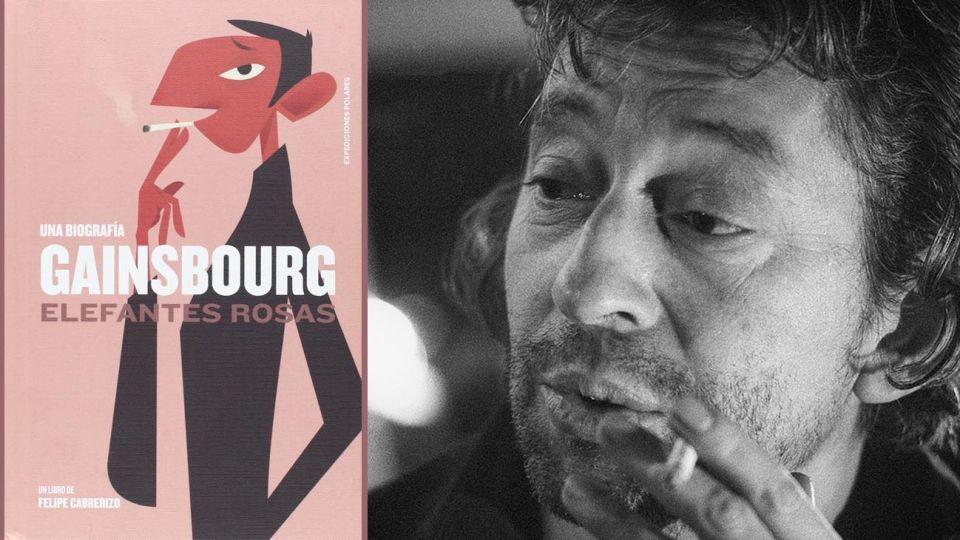 El libro recorre la efervescente vida del trovador francés. Su romance con Briggite Bardot y con Jane Birkin, y sus excesos con el alcohol.