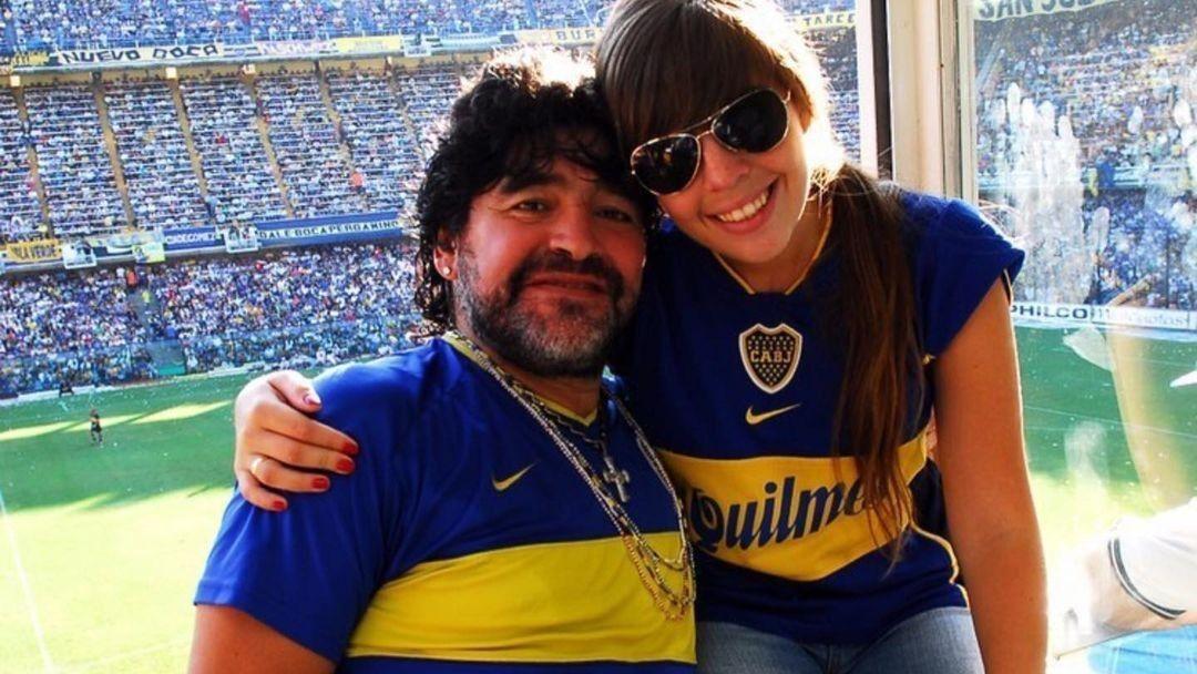 Dalma Maradona recordó a Diego con un emotivo posteo en las redes tras la victoria ante Racing. // Instagram