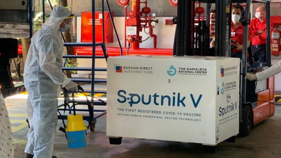 Logística Andreani Sputnik V