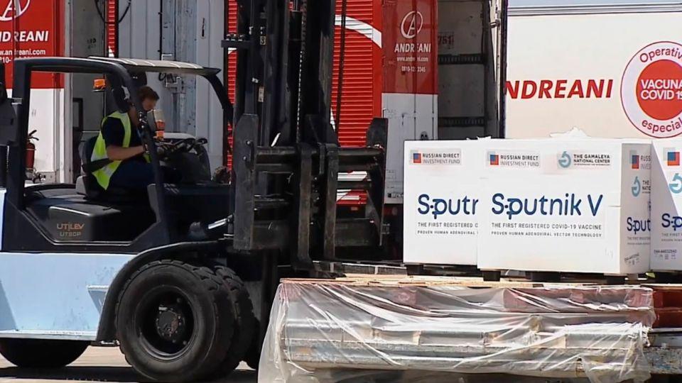 La empresa de logística Andreani, distribuidor oficial de la vacuna Sputnik V