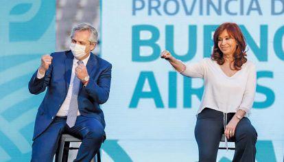 Programa. CFK lo reveló en La Plata. Pero no es el que defendía el ministro Guzmán.