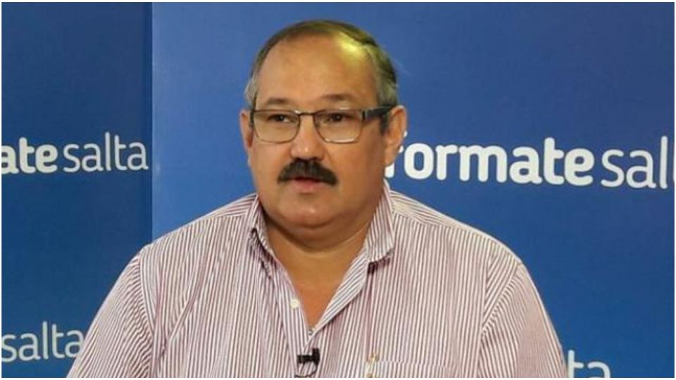 """El senador del Frente de Todos por Salta, Sergio """"Oso"""" Leavy."""