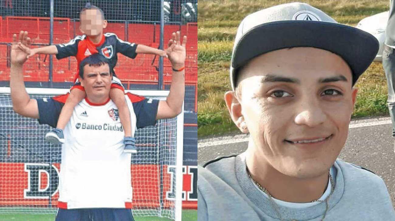 Macabro. Los cuerpos de Poliyo Beraldi (izq.) y Colo Jiménez fueron hallados esta semana en varios contenedores de basura. Las partes estaban en bolsas y se sospecha que los cortaron con una motosierra.