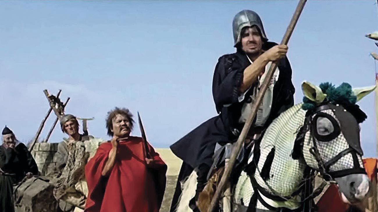 La Armada Brancaleone. Protagonizada por Vittorio Gassman.