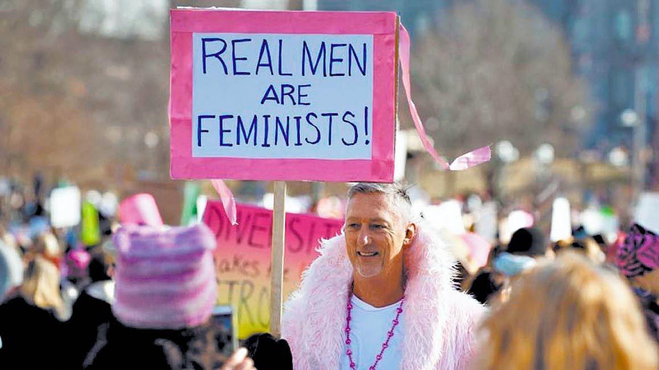 Colaboración. La lucha de las mujeres no es contra el hombre.