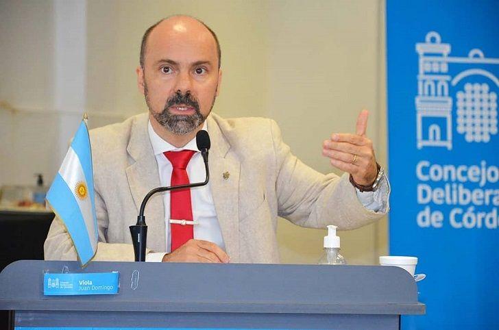 CAMBIOS. Juan Domingo Viola, el jefe del bloque oficialista en el Concejo podría pasar al Ejecutivo.
