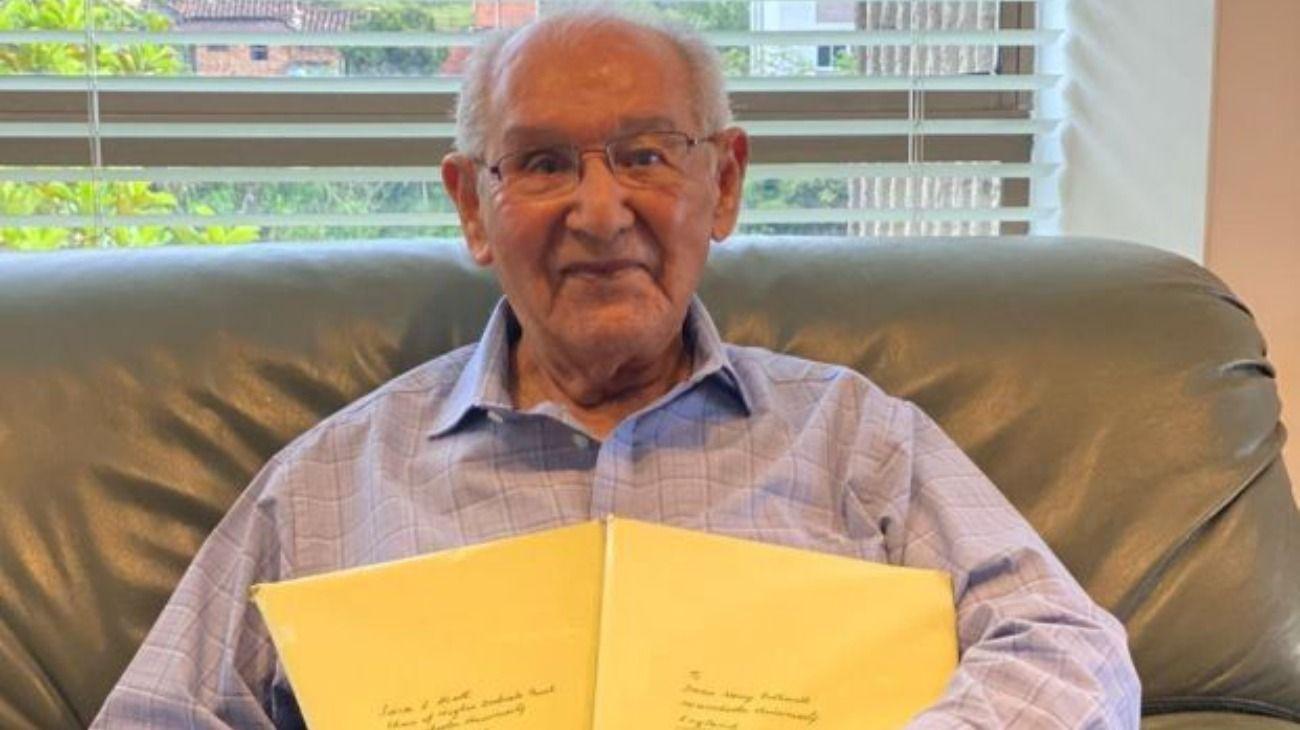 Lucio Chiquito Caicedo, a los 104 años, resolvió un enigma de hace dos siglos.