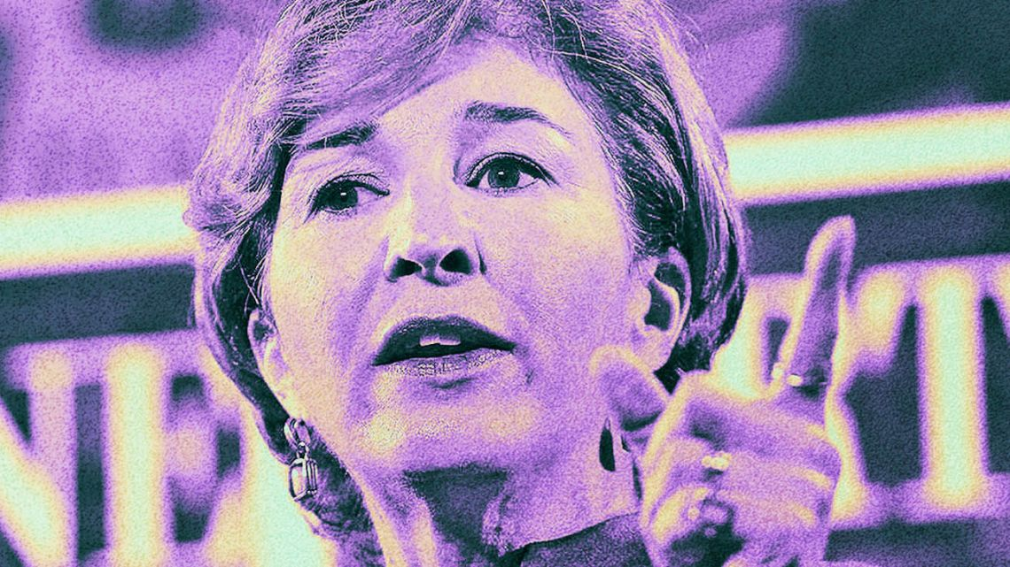 Former director of policy planning in the US State Department Anne-Marie Slaughter.