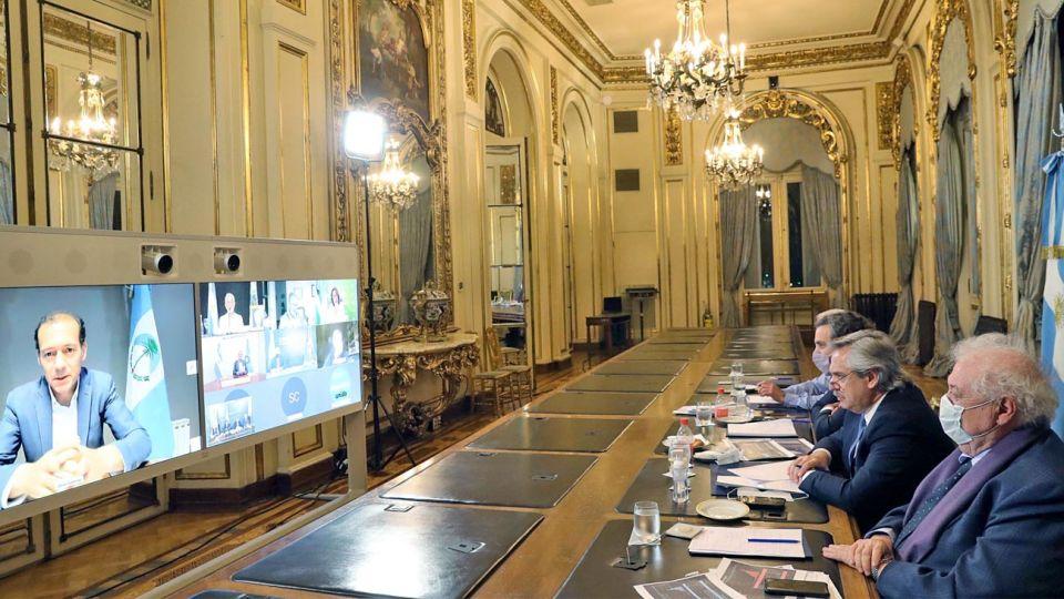 Reunión operativa. Alberto Fernández coordinará con los 24 mandatarios provinciales.