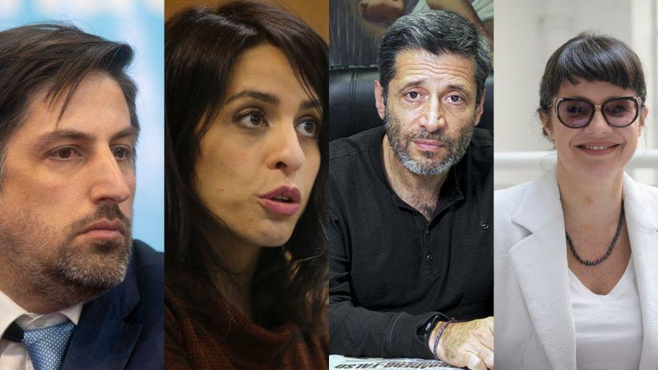 """Trotta, Donda, Santa María y Marziotta lanzan su propio partido """"En Común""""."""