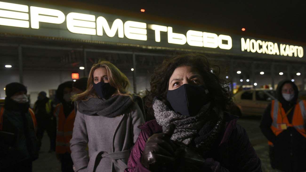 Vizzotti y Nicolini en Moscú, las enviadas de Alberto Fernández a cerrar el trato con Rusia por la vacuna Sputnik V.