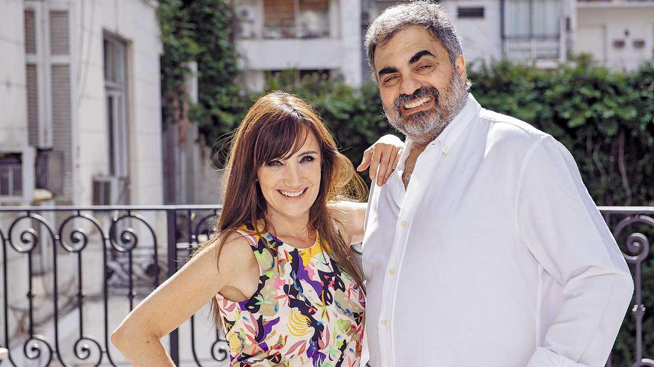 Juntos. Los comediantes se unen en este film romántico y adulto dirigido la realizadora Sabrina Farji.