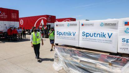 VACUNA. La Sputnik V llegará a Córdoba entre lunes y martes. Ya está diagramado el operativo de vacunación.