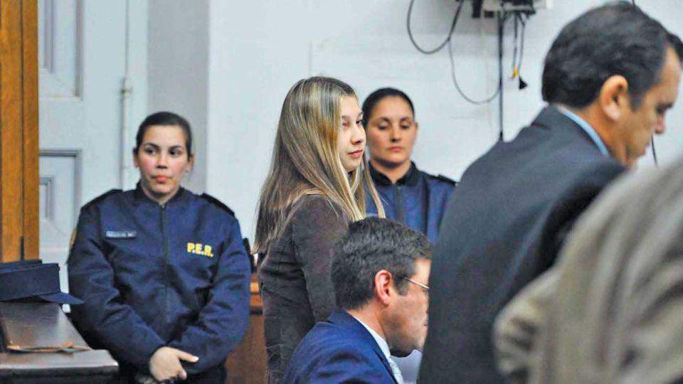 Encerrada. Nahir Galarza está presa en la cárcel de Paraná.